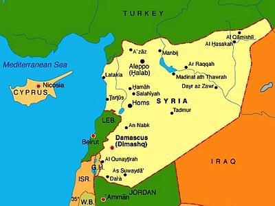 Cartina Africa E Siria.Per Saperne Di Piu Sulla Siria